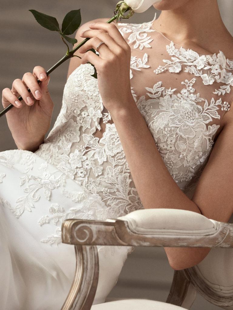 abito sposa st. patrick dettaglio