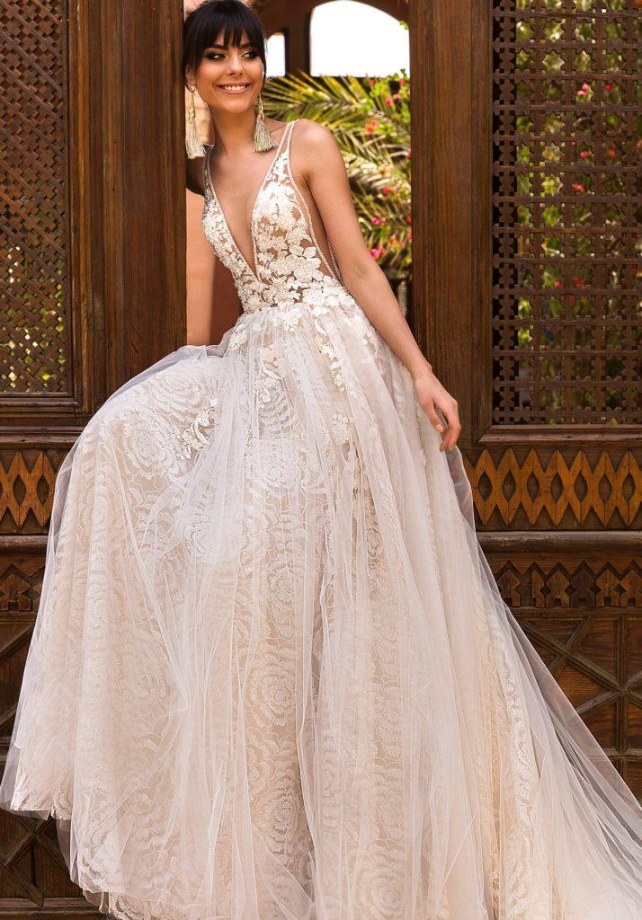 abito sposa crystal design rainbow