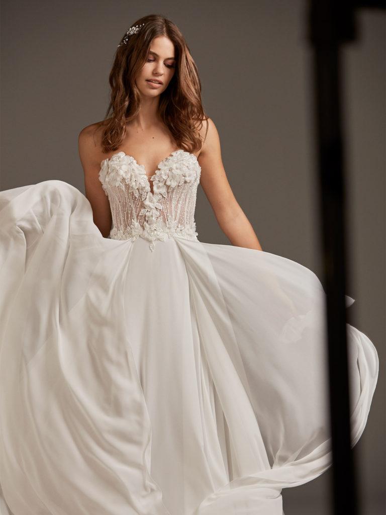 CAELUM abito sposa pronovias