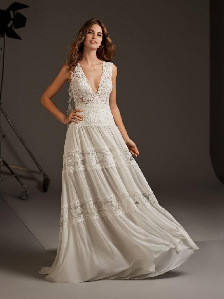 CAPELLA abito sposa pronovias