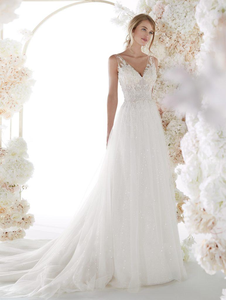 abito sposa colet nicole COA20141