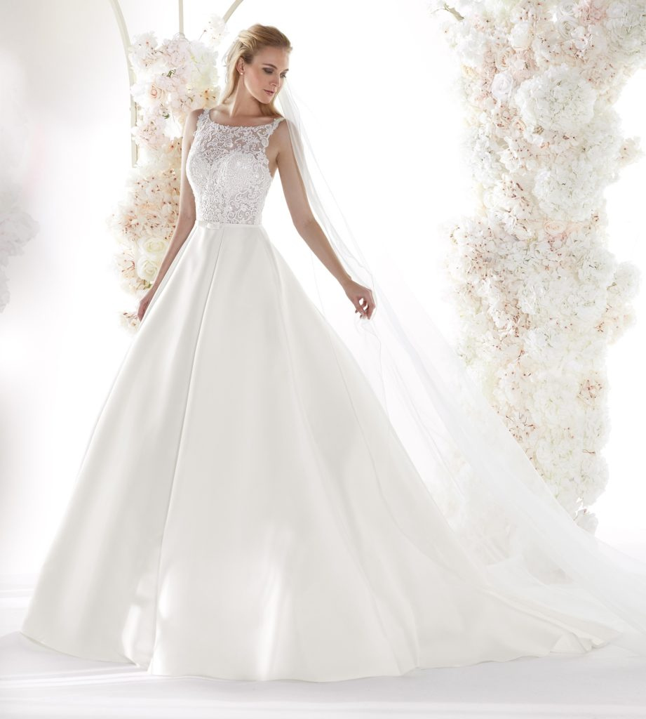 abito sposa colet nicole COA20151