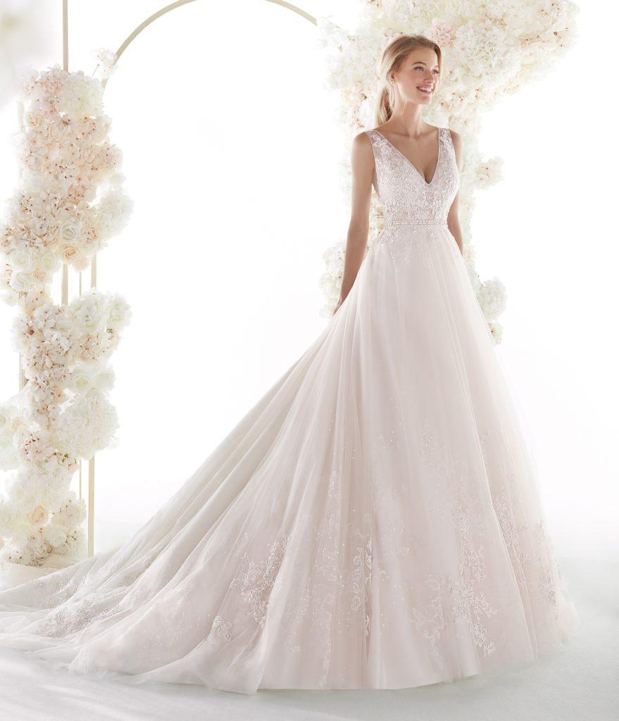 abito sposa colet nicole COA20331