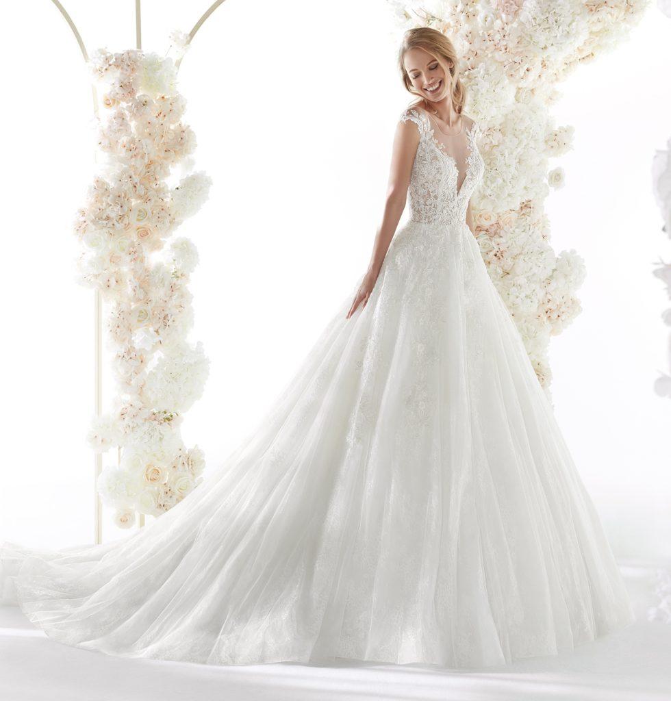 abito sposa colet nicole COA20341