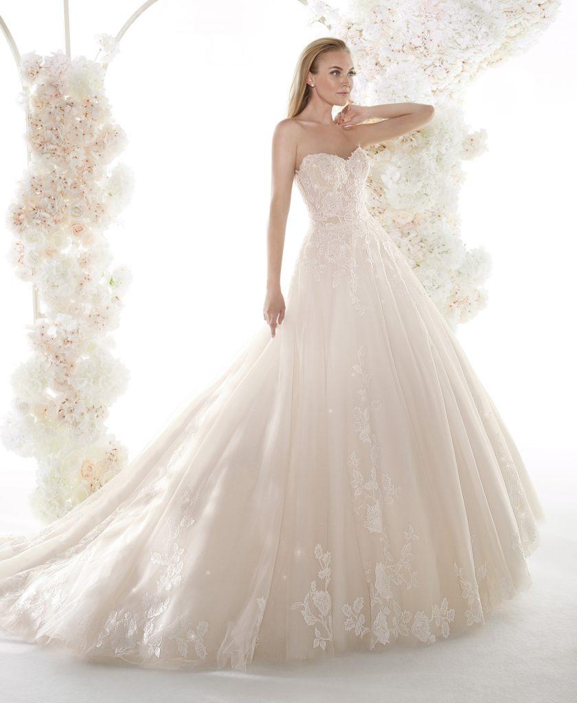 abito sposa colet nicole COA20651