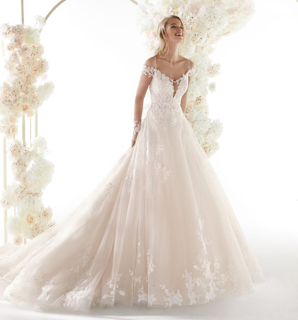 abito sposa colet nicole COA20681