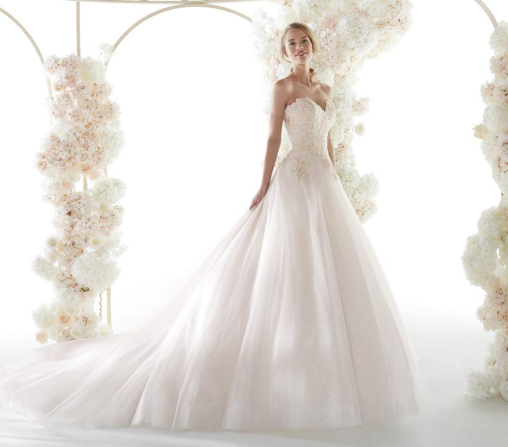 abito sposa colet nicole COA20831