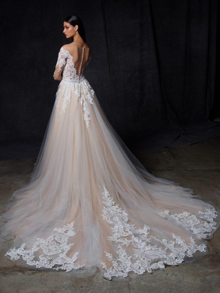 abito sposa enzoani olympia retro