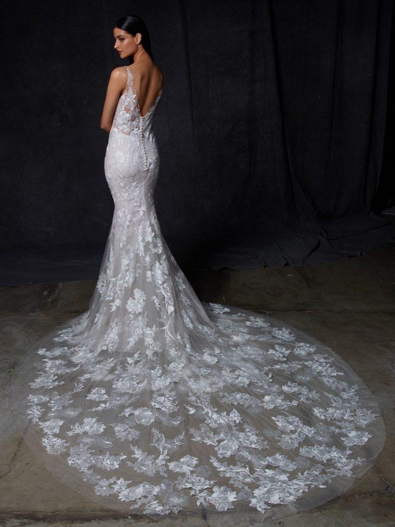 abito sposa enzoani oriana retro