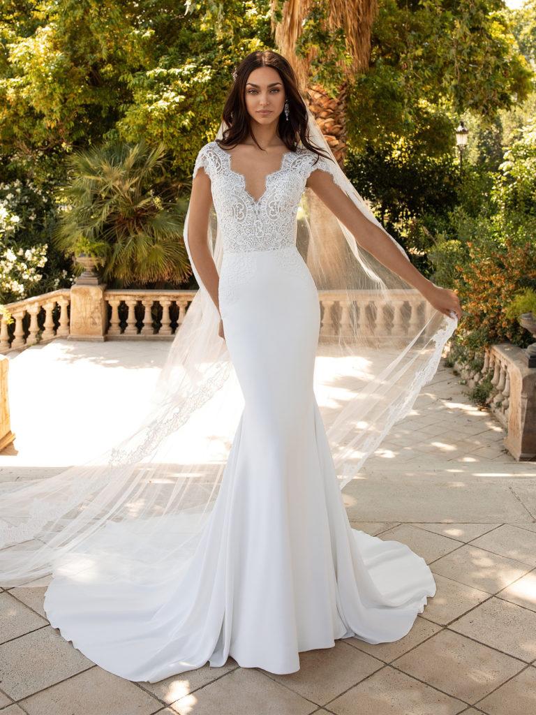 abito sposa pronovias milady