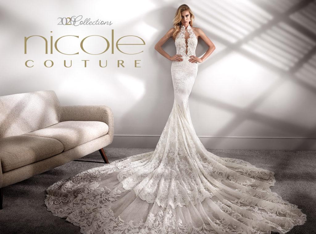 Abito sposa sirena Nicole Couture