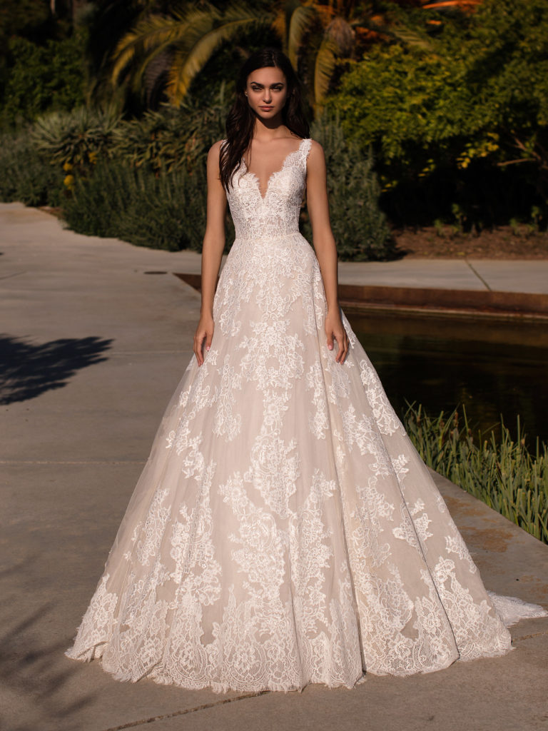 abito sposa pronovias orion
