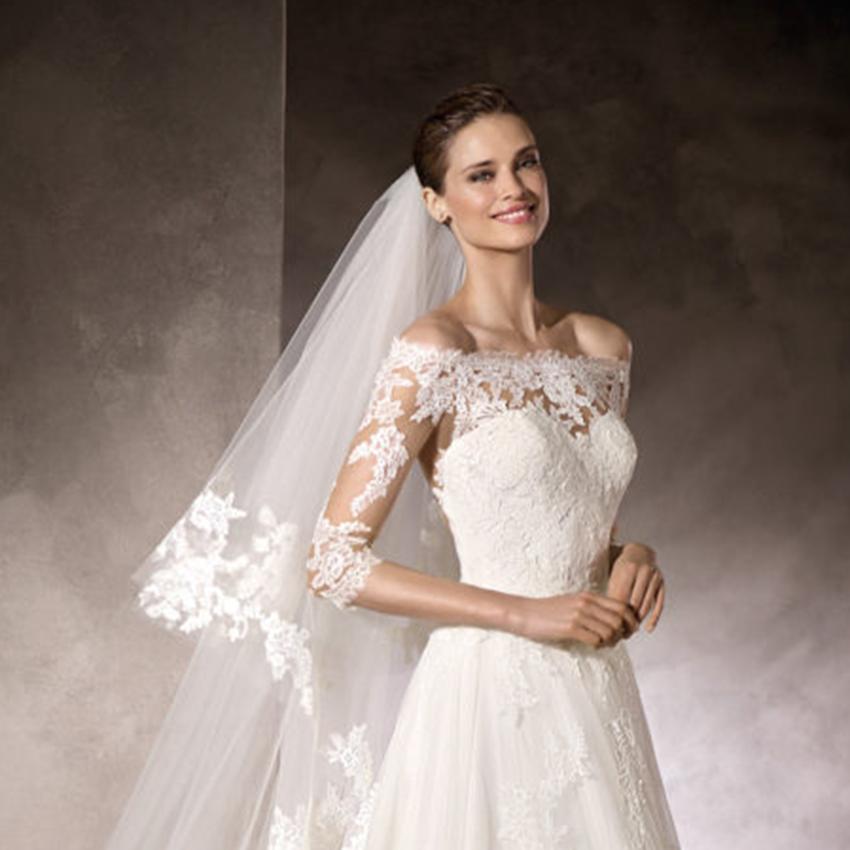 Scegli abito da sposa con boccia