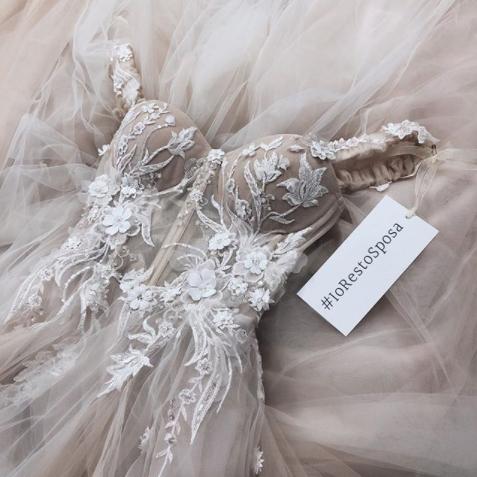 abito sposa #iorestosposa